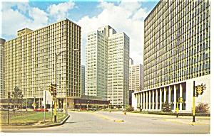 Pittsburgh PA Pittsburgh Hilton Postcard p14319 (Image1)