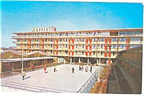 Washington DC Marriott Motor Hotel Postcard p14321 (Image1)