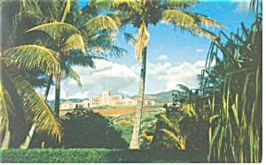 Oahu, HI, Tripler Army Hospital Postcard (Image1)
