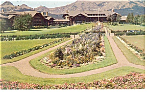 Glacier National Park Lodge Montana Postcard p14327 (Image1)