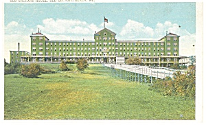 Old Orchard Beach ME Old Orchard House Postcard p14338 (Image1)