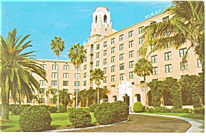 St Petersburg  FL Vinoy Hotel Postcard p14347 1974 (Image1)