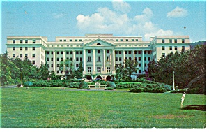 White Sulphur Springs Wv Greenbrier Postcard P14349 1956