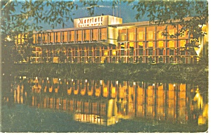 Newton MA Marriott Motor Hotel Postcard p14353 (Image1)