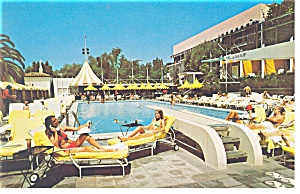 Los Angeles, CA, Beverly Hills Hotel Postcard (Image1)