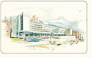Montreal Quebec Centre de la Ville de Montreal Postcard p14365 (Image1)