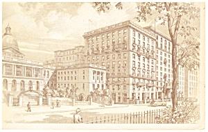 Boston MA Hotel Bellevue Postcard p14374 (Image1)