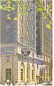Montreal Quebec Sheraton Mt Royal Hotel Postcard P14384 1978