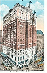 New York City NY Hotel McAlpin Postcard p14388 (Image1)