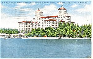 Palm Beach FL The Palm Beach Biltmore Postcard p14400 1948 (Image1)