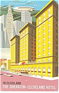 Cleveland, OH, Sheraton-Cleveland Hotel Postcard (Image1)