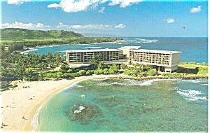 Kahuku Oahu HI  Turtle Bay Hilton Postcard p14411 (Image1)