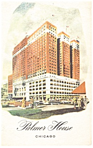 Chicago IL The Palmer House Postcard p14417 (Image1)