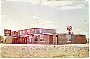 Morrisburg Ontario Canada Loyalist Hotel Postcard p14425 (Image1)