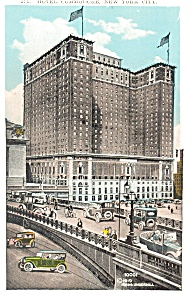 New York City NY The Hotel Commodore Postcard p14430 (Image1)