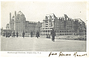 Atlantic City NJ Marlborough Blenheim Postcard p14431 1907 (Image1)