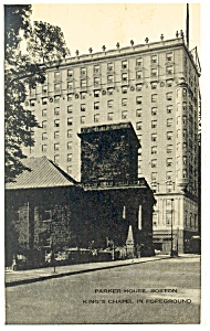 Boston MA The Parker House Postcard p14435 (Image1)