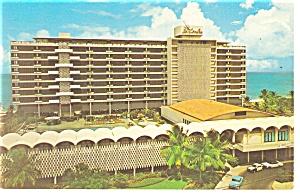 San Juan PR Hotel La Concha Cabana Club Postcard p14446 (Image1)