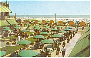 Atlantic City NJ Hotel Dennis Terrace Postcard p14449 (Image1)