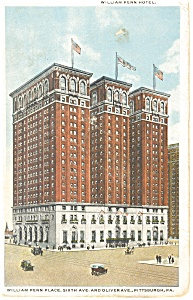 Pittsburgh  PA  William Penn Hotel Postcard p14450 (Image1)