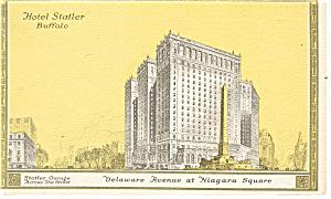 Buffalo, NY, Hotel Statler Postcard (Image1)