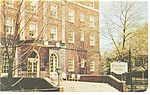 Grove City PA The Penn Grove Hotel Postcard p14458 1958 (Image1)