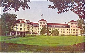North Woodstock  NH Hotel Alpine Postcard p14460 (Image1)