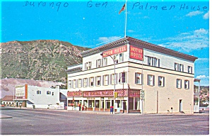 Durango CO General Palmer House Postcard p14470 1968 (Image1)