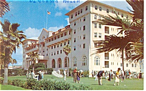 Daytona Beach  FL Daytona Plaza Hotel Postcard p14471 (Image1)