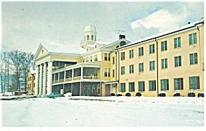 Winter at Lambuth Inn NC Postcard p14483 (Image1)