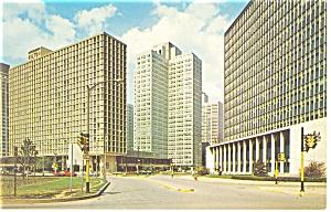 Pittsburgh  PA The Pittsburgh Hilton Postcard p14487 (Image1)