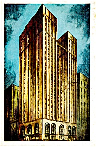Pittsburgh PA The Pittsburgher Hotel Postcard p14488 1952 (Image1)