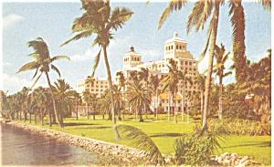 Palm Beach FL Palm Beach Biltmore Postcard p14490 1955 (Image1)