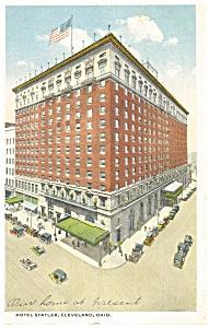 Cleveland OH Hotel Statler Postcard p14494 1917 (Image1)