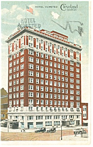 Cleveland, OH, Hotel Olmsted Postcard 1923 (Image1)