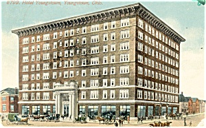 Youngstown, OH, Hotel Youngstown Postcard (Image1)
