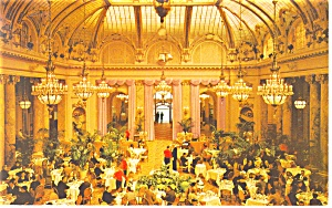 San Francisco  CA Sheraton Palace Interior Postcard p14510 (Image1)