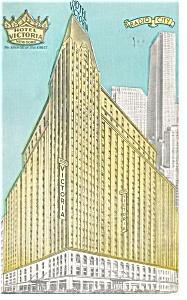 New York City  NY Hotel Victoria Postcard p14516 (Image1)