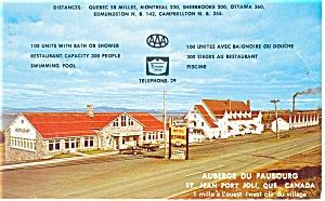 Jean Port Joli Quebec Canada Postcard p14520 (Image1)