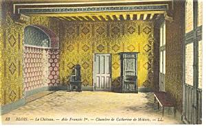 Blois France The Castle Chamber Catherine de Medicis p14578 (Image1)