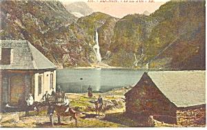 Luchon, France-Le Lac d'Oo Postcard (Image1)