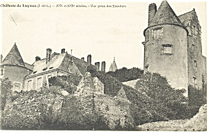 Chateau de Luynes, French Postcard 1918 (Image1)