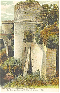 Chinon, France-La Tour de Condry Postcard (Image1)