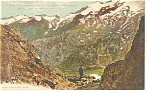 Luchon, France-Les Pyrenees Les Monte Maudits Postcard (Image1)