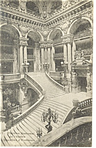 Theatre National de l'Opera French Postcard (Image1)