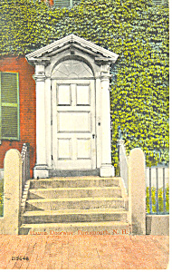Haven Doorway Postcard 1915
