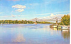 Fishing Camp Postcard p14734 (Image1)