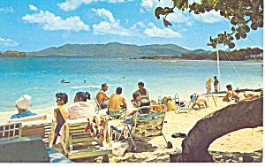 Sapphire Beach St Thomas VI  Postcard p14794 (Image1)