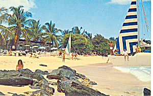 Sapphire Beach St Thomas VI  Postcard p14805 (Image1)