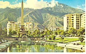 Oblisk,Caracas, Venezuela Postcard (Image1)